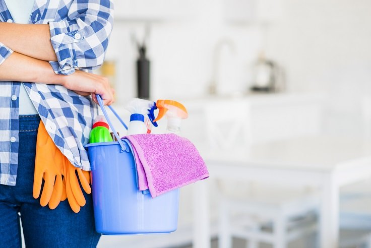 general cleaning home